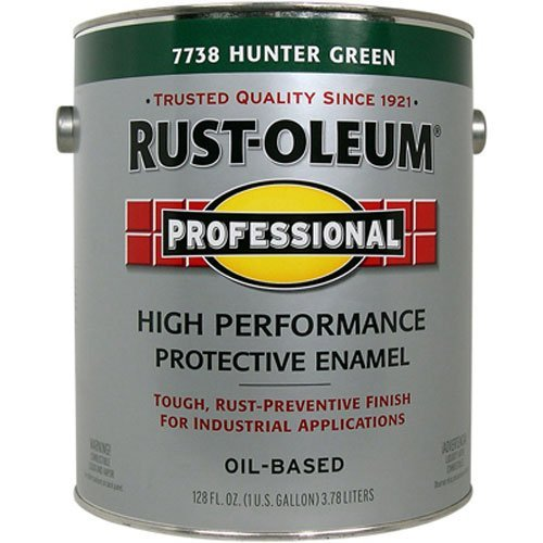 RUST-OLEUM 242254 Professional Gallon Gloss Hunter Green Protective Enamel