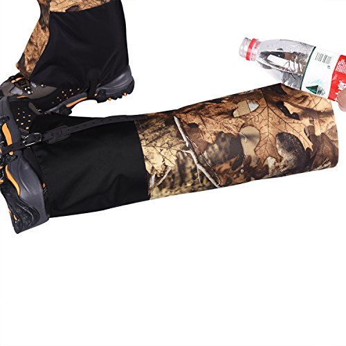 neige Camouflage Extérieure Randonnée Leg Anti L'eau Escalade Wraps Pied Unisex Cover Gaiters Snow Imperméable Namvo Chasse Legging À wS0XT6q