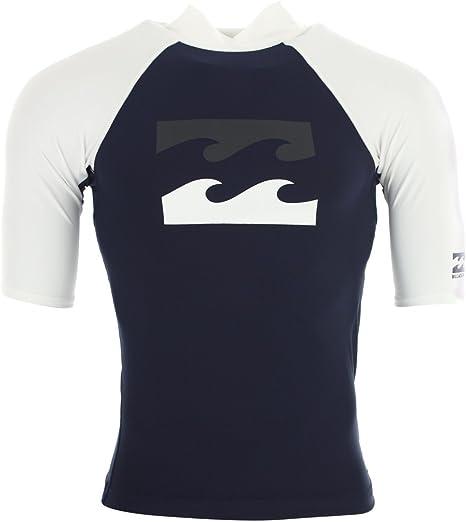 BILLABONG Team - Camiseta de Licra para Hombre, Hombre, Color Azul Marino, tamaño Small: Amazon.es: Deportes y aire libre