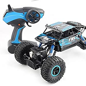 Maikerry RC Buggy Electric RC Cars Offroad RC Remote Control Cars High-speed Fast RC Cars for Kids and Adults Truck-Blue