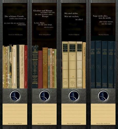 File Art AJ050 Design Etiketten Ordnerrückenschilder