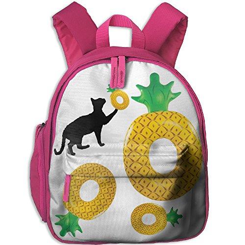 Ugift Print Pineapple Donuts 2-6 Kids Toddler Funny Lunchbag Preschool Gift (Healthy Halloween Snack For Preschool)