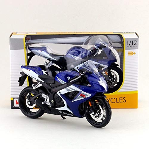 (Greensun 1:12 Scale/Simulation Diecast Model Motorcycle Toy/Suzuki GSX-R750 Supercross/Delicate Children's Toy or colllection)