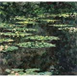 The Perfect effect Canvas of oil painting 'Water-Lilies, 1904 By Claude Monet' ,size: 18x19 inch / 46x48 cm ,this High Resolution Art Decorative Canvas Prints is fit for Garage decor and Home decoration and Gifts