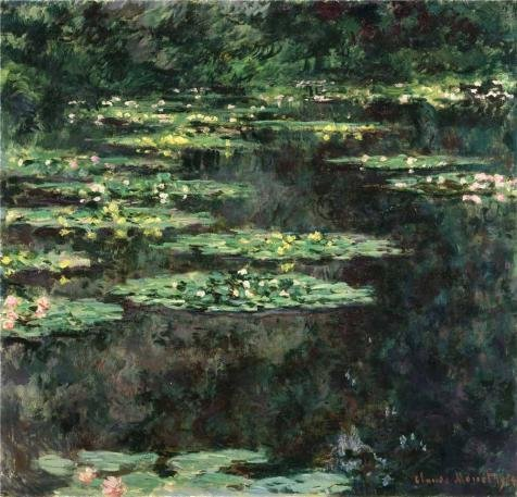 High Quality Polyster Canvas ,the Beautiful Art Decorative Canvas Prints Of Oil Painting 'Water-Lilies, 1904 By Claude Monet', 18x19 Inch / 46x48 Cm Is Best For Home Theater Decor And Home Artwork And Gifts (Two Person Horse Costume Uk)