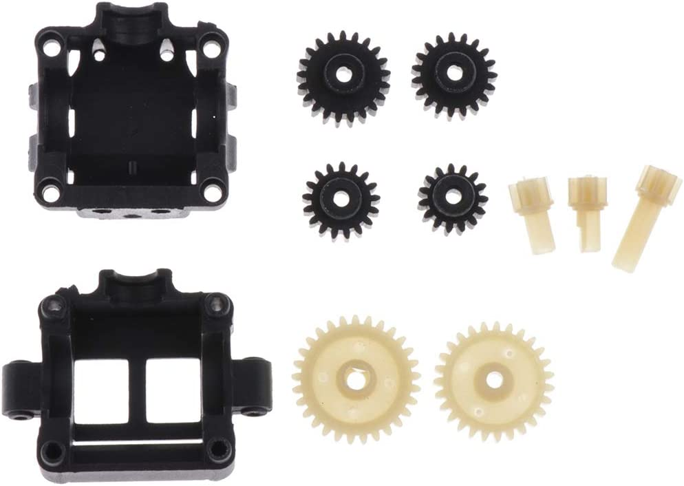 Dailymall 10pcs Driving Gear Pinion//Reduction Gear//Motor Gear//Gearbox Housing For K989