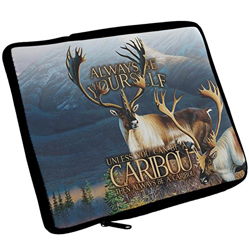 (Always Be Yourself Caribou Reindeer iPad Tablet Sleeve Multi Standard One Size)