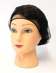 Latex Free, Caps Hair Nets, Salon Spa Food Service 1000 Pack 21