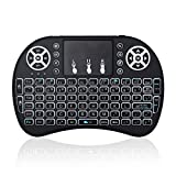 Image of Opard Backlit Wireless Mini Keyboard 2.4GHz Handheld Portable with Touchpad for Android Xbox 360, PS3, Google TV Box, HTPC, IPTV (Upgraded)