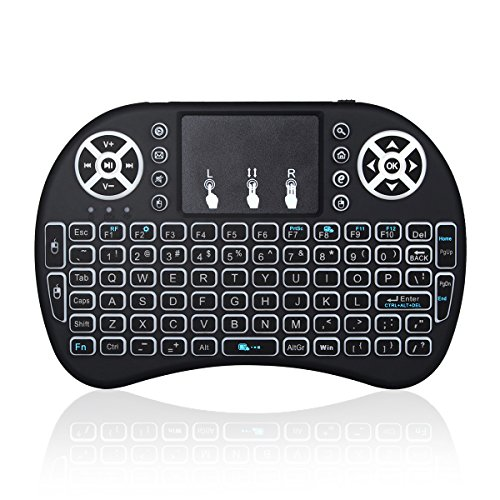 Opard Wireless Keyboard Touchpad Rechargable