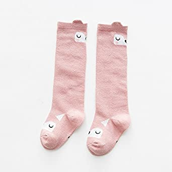 Belsmi Baby Socks Calcetines hasta la rodilla Calcetines largos