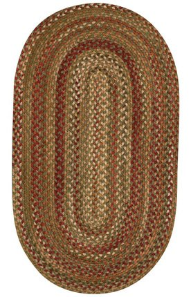 Manchester Sage Red Hues Multi Rug Rug Size: Concentric 9'6
