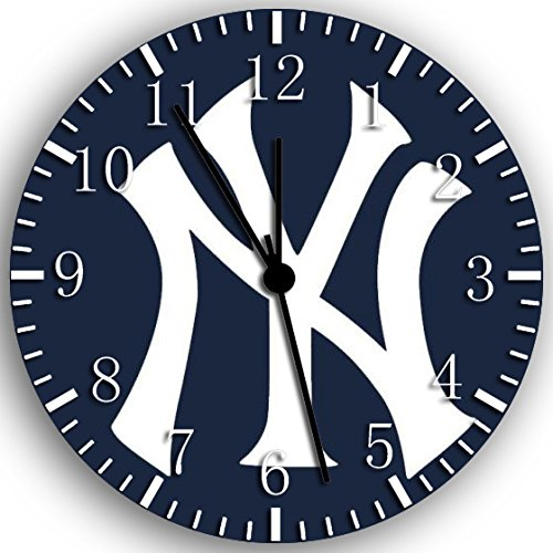 Borderless Yankees Frameless Wall Clock W100 Nice for Decor