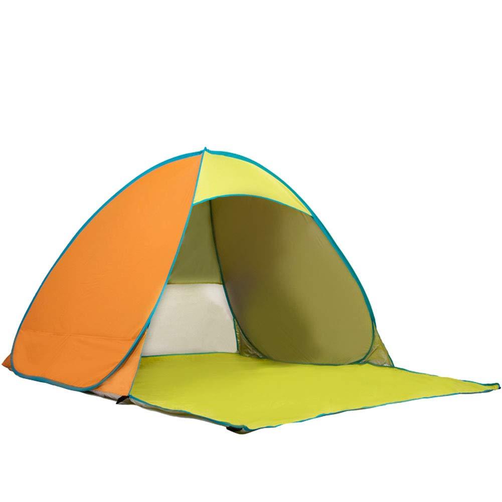 Yuhong Zelt, vollautomatisch Pop-Up Zelte Beach Waterproof Anti-UV Portable 2-3 Personen Camping Outdoor Aktivitäten Zelt