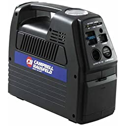 Campbell Hausfeld Cordless Rechargeable Inflator with 12-Volt Power Outlet (CC2300)
