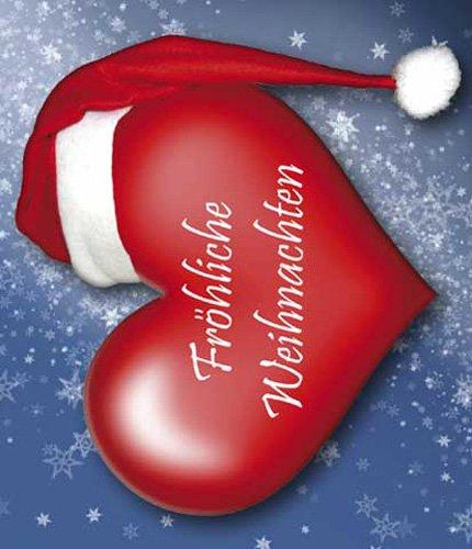 Frohe Weihnachten Herz.Empireposter Fröhliche Weihnachten Herz Cd Geschenkhülle Cd Verpackung Pappschachtel