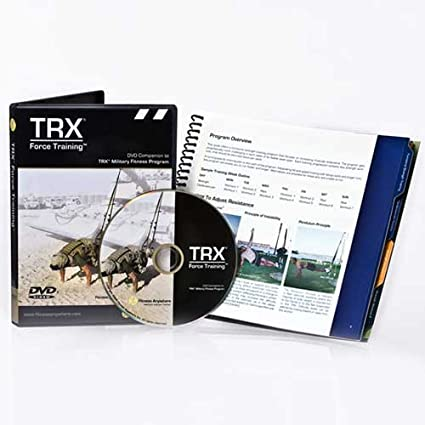 amazon com trx force training dvd and guide fitness charts and rh amazon com trx force training manual pdf TRX Workouts PDF
