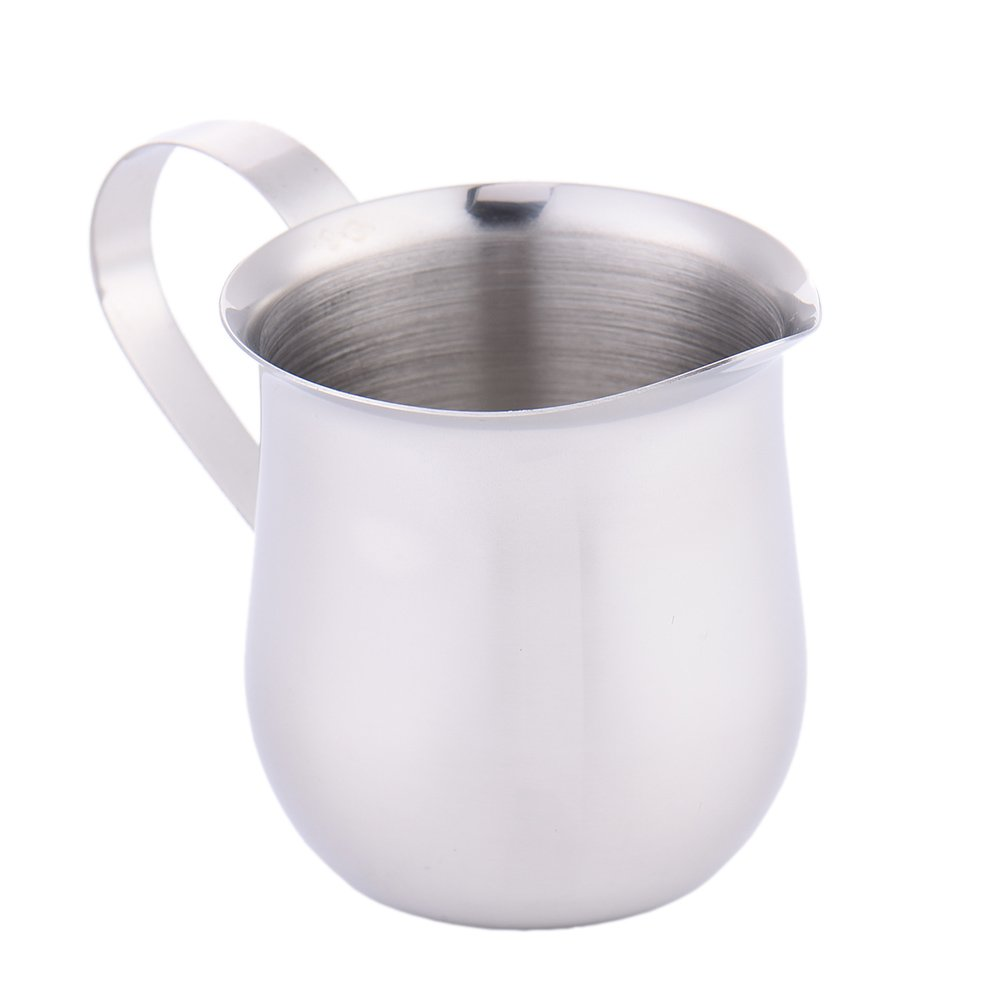 Milk Frothing Pitcher,cheerfullus 2oz Stainless Steel Milk Cup Milk Frothing Pitcher Milk Jug
