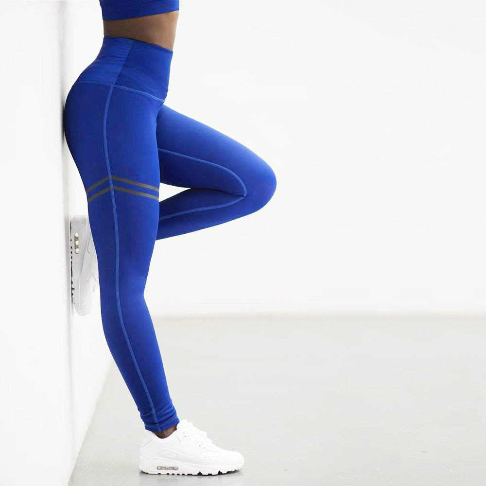 Yogahosen Für Damen UFODB,Frauen Sporthose High Waist Sport Leggings Elastische Yogahose Lange Laufhose Leggins Stretch Hose Lauf Tights Yoga Lang