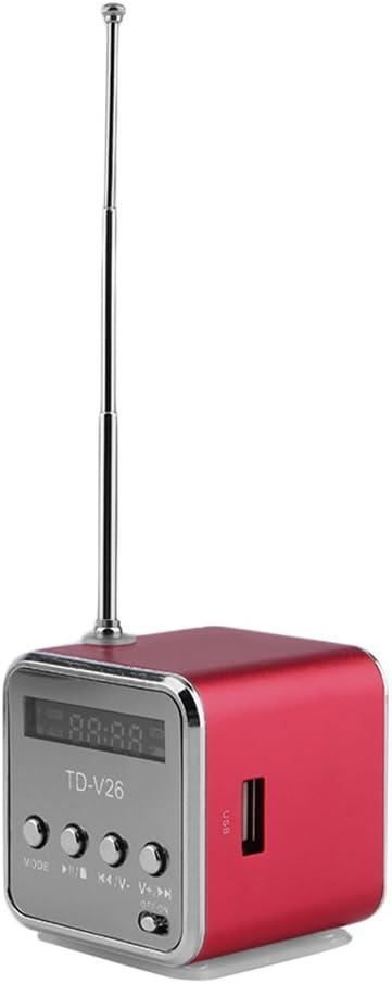 Coldcedar Portable Micro USB Mini Stereo Super Bass Speaker Music MP3//4 FM Radio