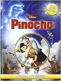 Pinocho (libro + DVD) (Peliculas Disney): Amazon.es: Walt