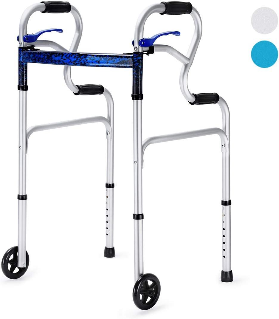 Amazon.com: Health Line - Andador plegable 2 en 1 con ...