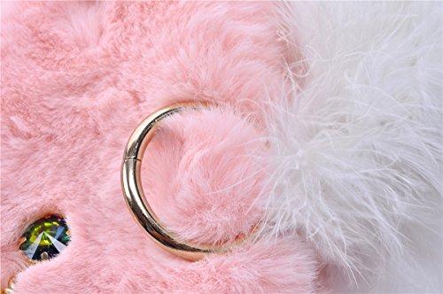 Zarapack, Poschette giorno donna rosa Pink