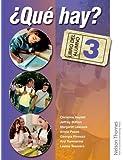 ?Que Hay? Libro del Alumno 3