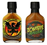 Zombie Repellent Apocalyptic & Dragon Repellent Knightmare Hot Supernatural Sauce Set (1 of each)