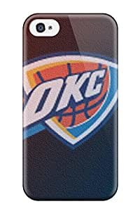 Cleora S. Shelton's Shop oklahoma city thunder basketball nba NBA Sports & Colleges colorful iPhone 4/4s cases 2467747K178827167