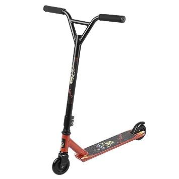 Homgrace Patinete de Trucos y Saltos Giratorio de 360°, robustos con rodamientos ABEC 7, Freestyle Scooter Adultos