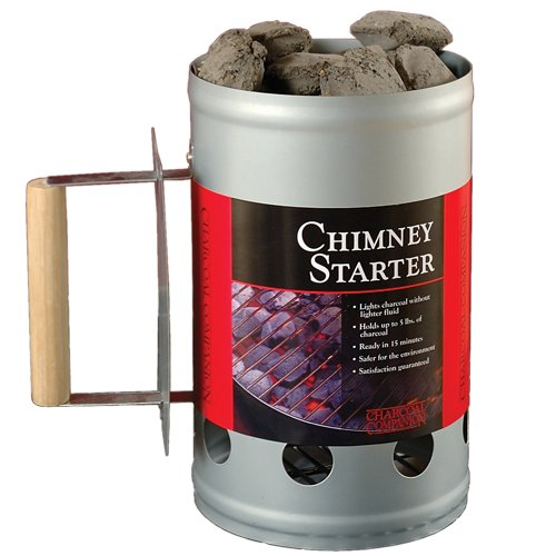 Chimney Charcoal Starter for this Simple DIY Modifications For A Weber Smokey Joe Smoker Conversion