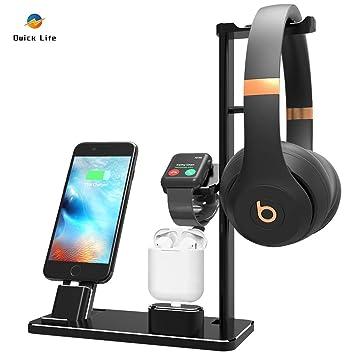 Amazon.com: Quick Life - Base de carga para Apple Watch y ...