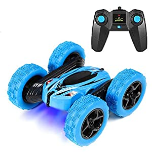 Stunt RC Cars Remote Control Car Double-Sided Rotating Vehicles 360 Degree Flips, Birthday Gift Toy for Boys Girls