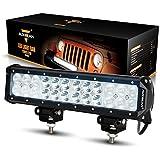 "Auxbeam® 12"" 72W LED Light Bar 7200lm Combo Beams 24pcs 3W CREE Chips Waterproof for Jeep off road Van Camper Wagon ATV AWD SUV 4WD 4x4 Pickup Van Off-road"