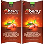 "mberry Miracle Fruit Tablets, 10-Count (Pack of 2) 3 Turns sour foods to sweet! Perfect for ""flavor tripping"" parties. 10 tablets per packet"