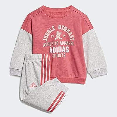 adidas I Graph Jog Ft Chándal, Unisex bebé, rosrea/Brgrcl, 62 ...