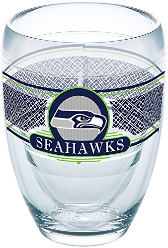 Tervis 1227720 Nfl Seattle Seahawks Select Tumbler, 9 oz, Clear