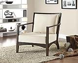 Cheap Coaster Accent Chair-Cream