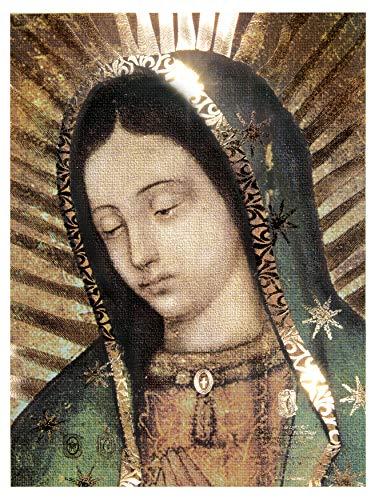 Our Lady of Guadalupe Half Body Portrait Original(12