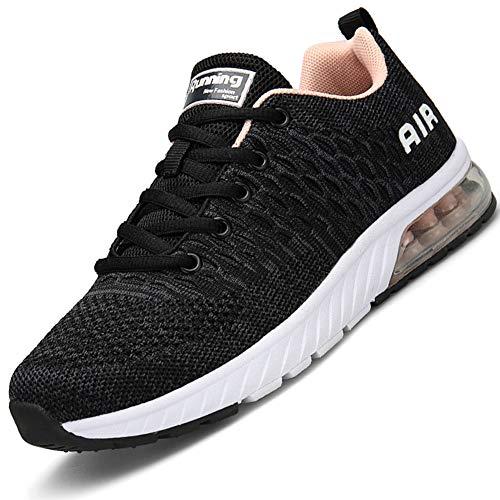 Mabove Herren Damen Laufschuhe Turnschuhe Sportschuhe Straßenlaufschuhe Sneaker Atmungsaktiv Trainer für Running Fitness Gym Outdoor