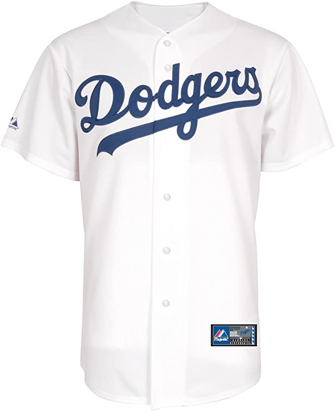 JerseyWhite Angeles Home Mlb Los Dodgers Replica dCxBoe