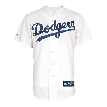 Majestic MLB - Camiseta de béisbol réplica de Los Angeles Dodgers, color blanco - blanco, tamaño XXL: Amazon.es: Deportes y aire libre
