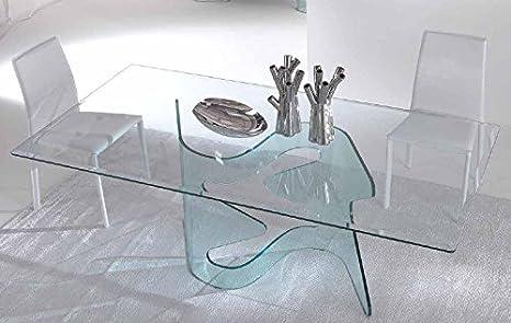 Idea tavoli in vetro fissi e allungabili axel tavolo in vetro