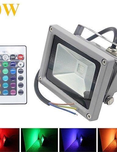 STL 10W 1000LM Proyectores LED RGB 16 colores impermeable de ...