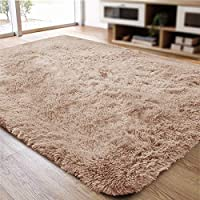 ACTCUT Super Soft Indoor Modern Shag Area Silky Smooth Rugs Fluffy Rugs Anti-Skid Shaggy Area Rug Dining Room Home...