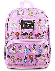 Disney Princess Mini mochila para mujer – Mochila de lona Disney Princesa bolso de hombro para adultos, adolescentes