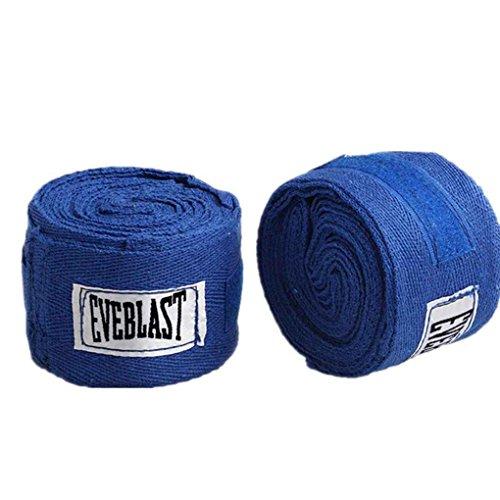 Bandage Thai Sanda Muay Main Bleu Wraps Sangle Sport 2 Morza Coton Taekwondo Boxe Gants 3m Rolls PwgTq7z