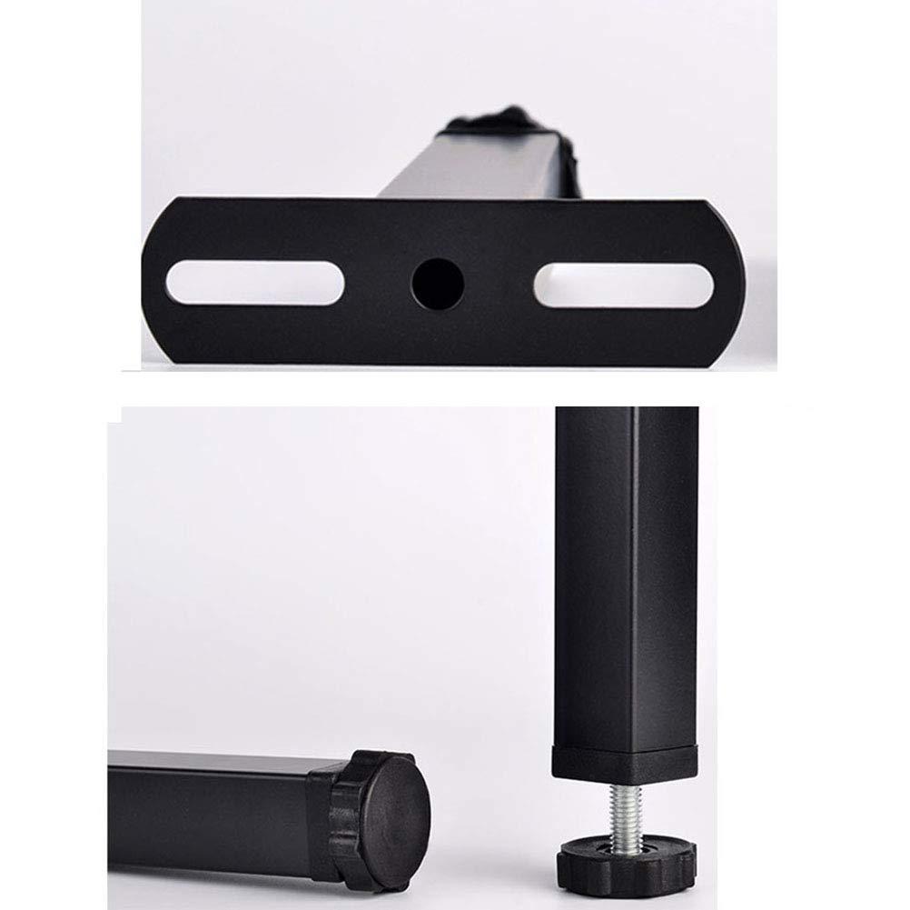 Accesorios de Soporte de Muebles 35 cm de Altura Patas Cama Regulables,pies de Cama somier de Hierro Negro 30 cm 25 cm NWHJ 20 cm Juego de 4