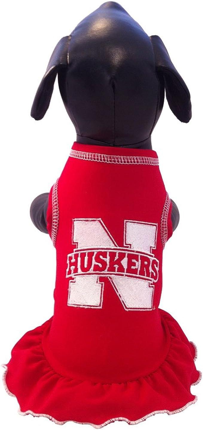 NCAA Wisconsin Badgers Collegiate Cheerleader Dog Dress Large